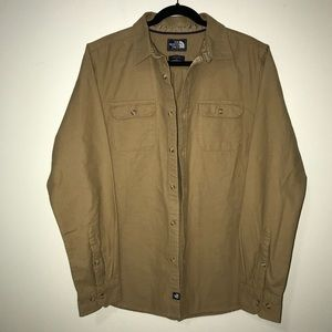 Men's The North Face Long Sleeve Button Down Sz M